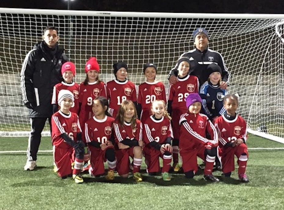 Clarkstown Girls U8 White Soccer Team