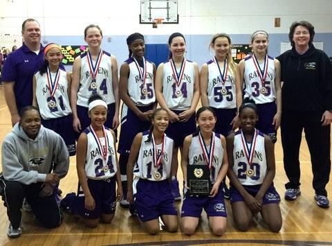 Columbia Ravens 7th Grade Girls Basketball March Fundraiser
