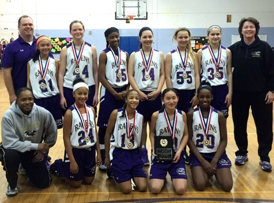 Columbia Ravens 7th Grade Girls Basketball March Fundraiser