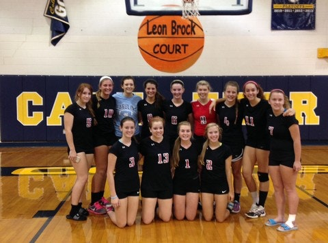 NBHS Volleyball Team Camp