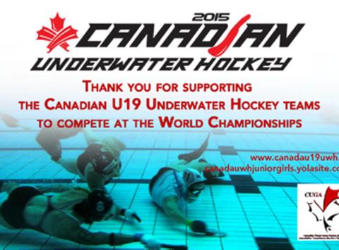 sports teams, athletes & associations fundraising - Calgary Underwater Hockey: U19 World Championships in Spain