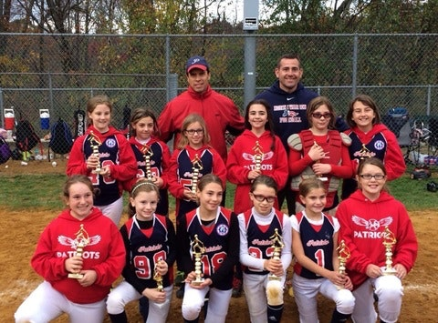 2015 10U Patriots Softball
