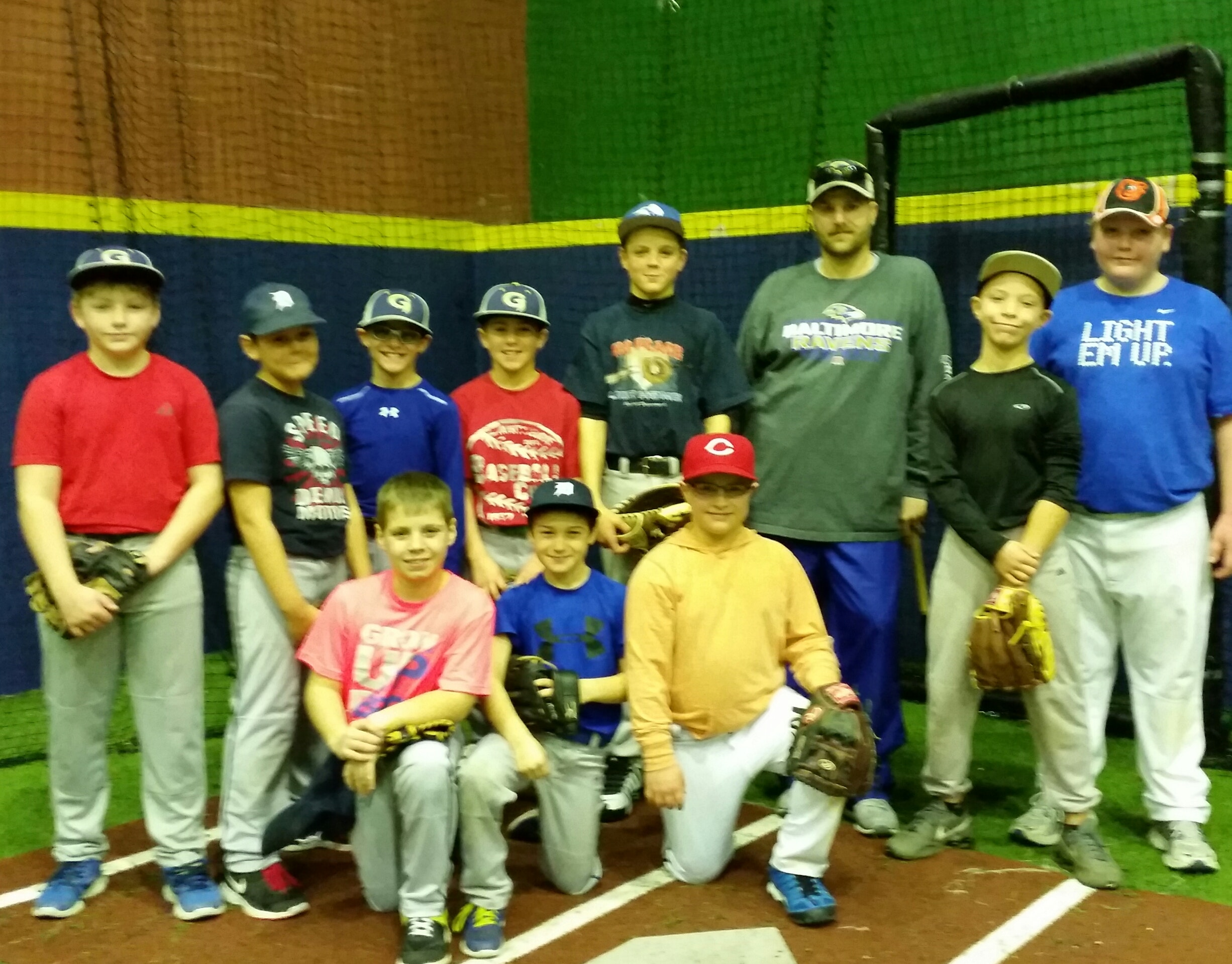 Backyard University Gamers 12u Gold Fundraiser!!!