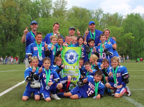 lacrosse fundraising - Whitby Warriors Novice 1 Lacrosse