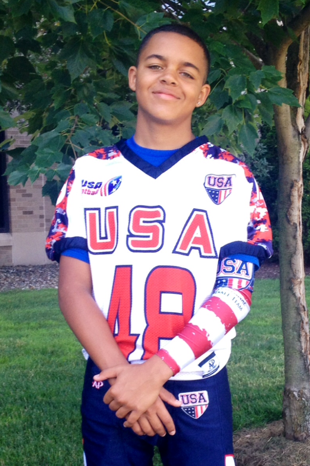 Elijah Davis Team USA Football