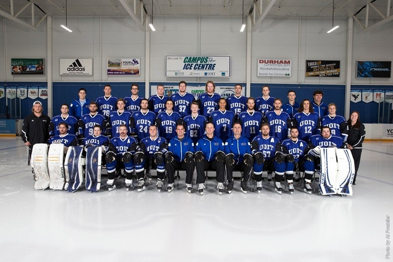 UOIT Ridgebacks Men's Hockey Team