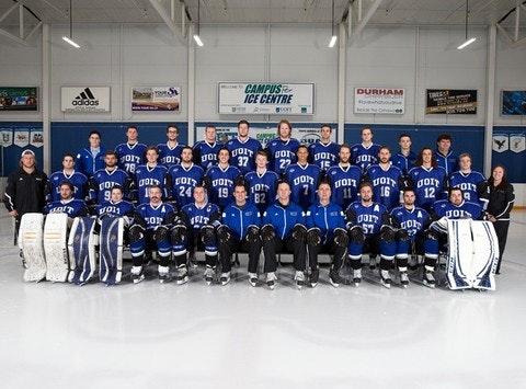 UOIT Ridgebacks Men's Hockey Team
