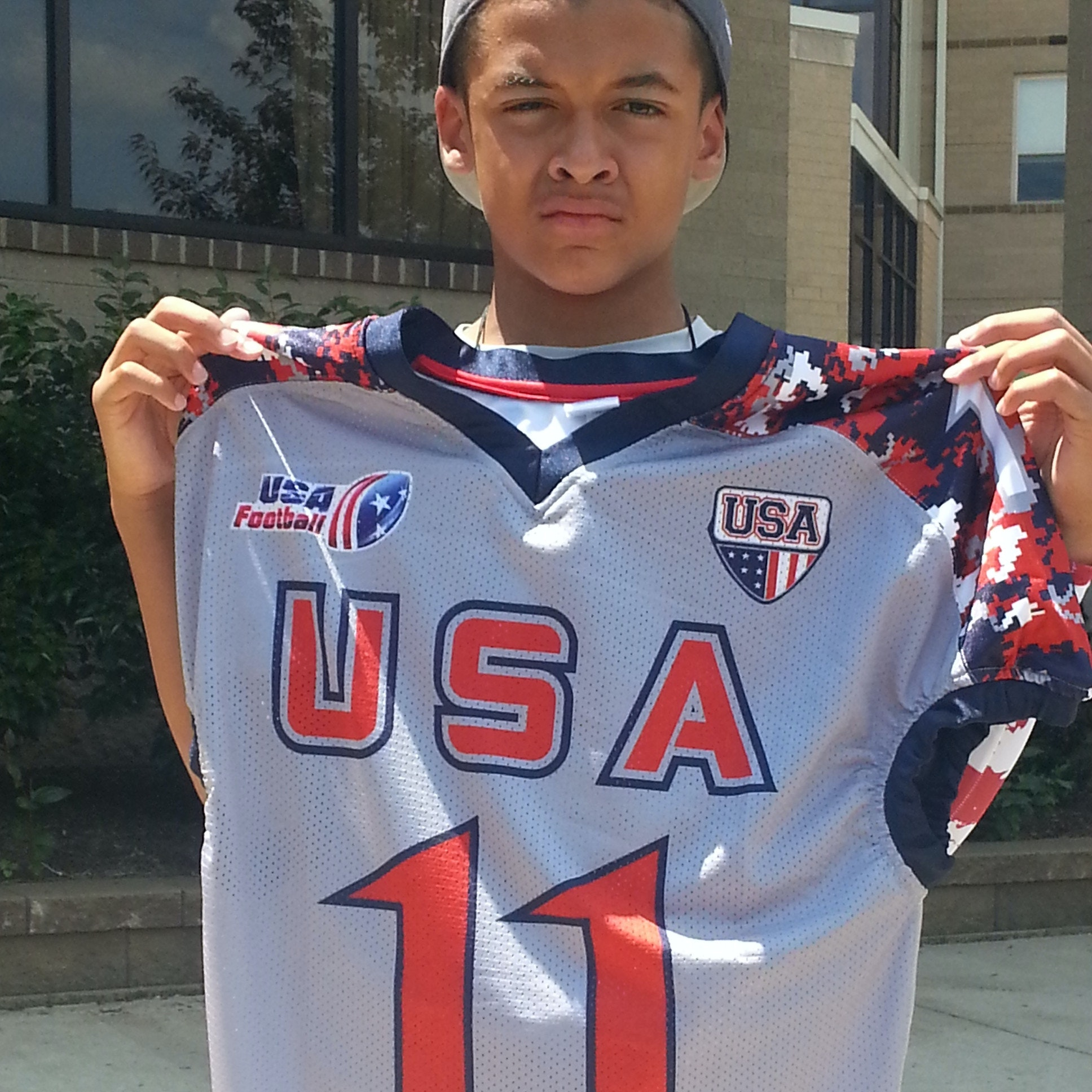 Jalen's Canton Development Game Trip USA Football