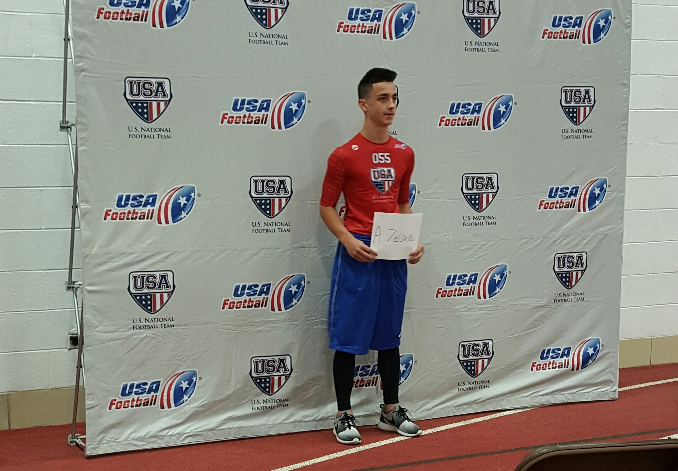 Help support Amedeo and his journey to team USA.