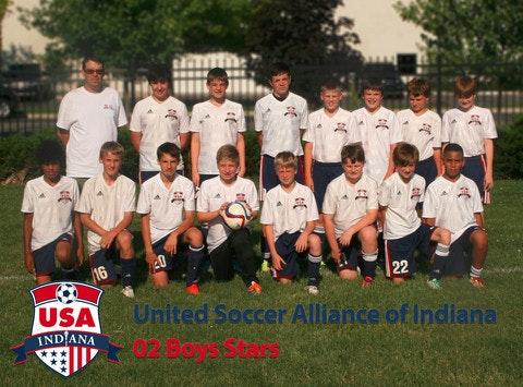 USAi 02 Boys Stars U14 Soccer Team