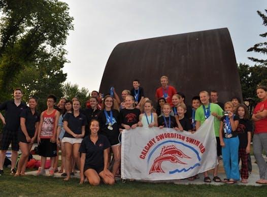 swimming fundraising - Swordfish Fundraising