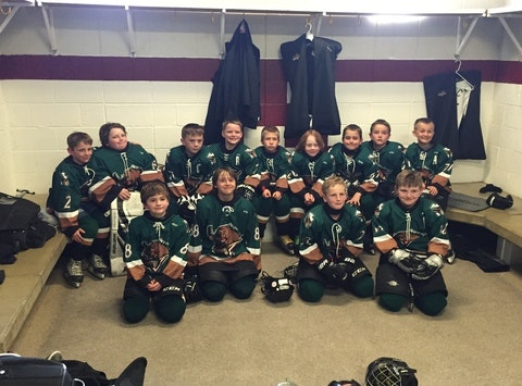 ice hockey fundraising - Utah Junior Grizzlies Squirt Select Travel Team