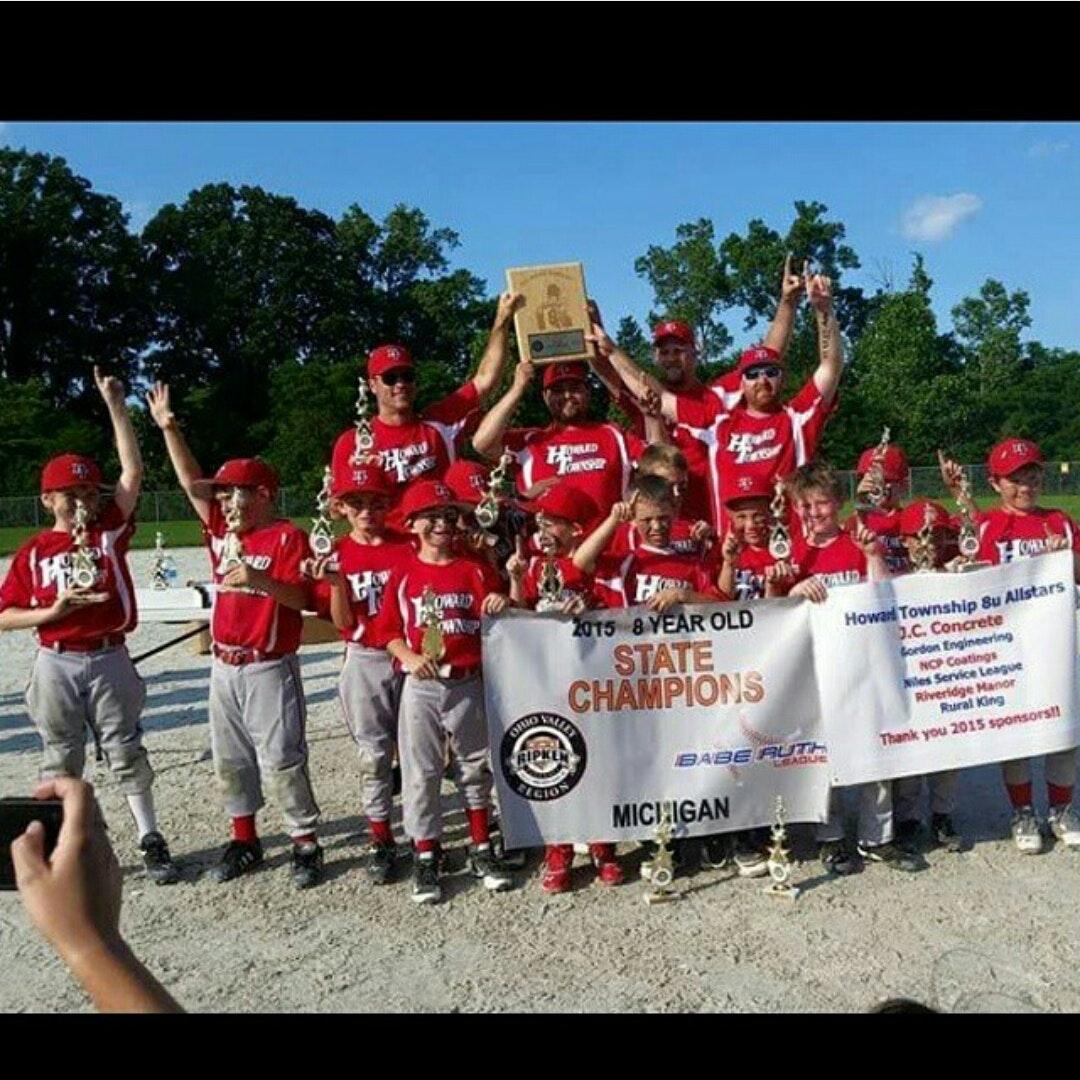 Regional 8u baseball tournament