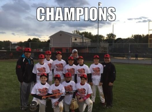 baseball fundraising - Muckdogs Cooperstown Tournament