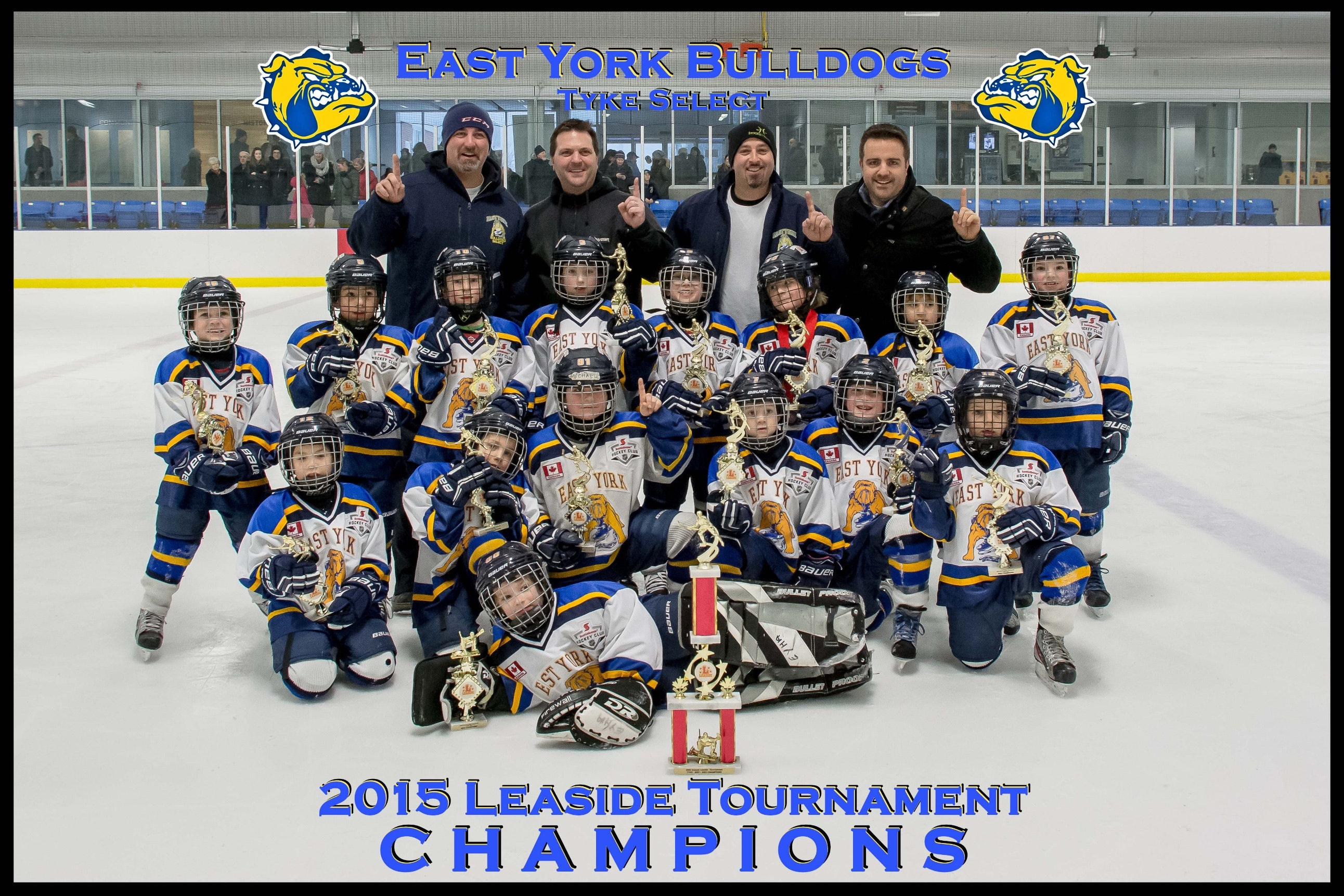 East York Bulldogs Minor Novice Blue