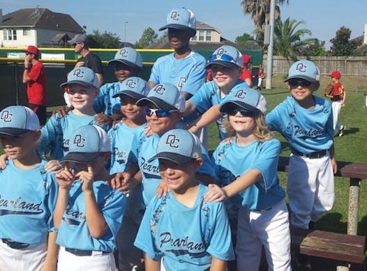 baseball fundraising - DC Pearland West 8u