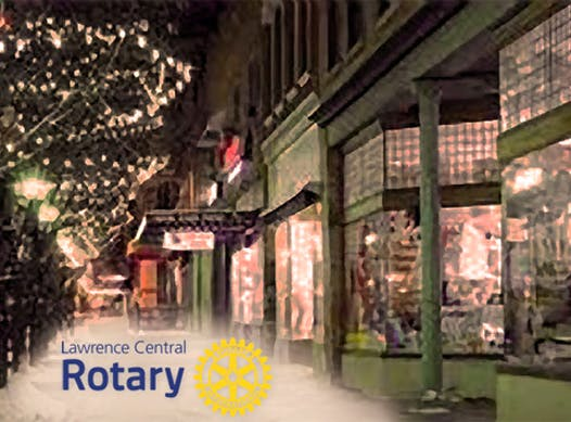 rotary club fundraising - Lawrence Central Rotary Holiday 2015 Fundraiser