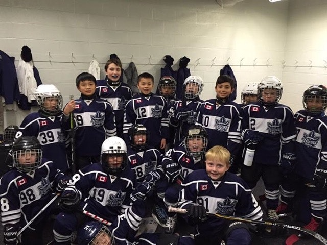 Markham Waxers Novice Select Hockey Team