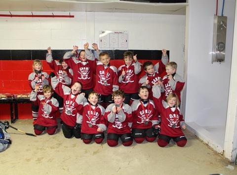 Cabri Initiation Hockey Team 2015/16