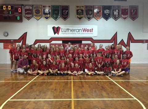 Lutheran High West School Basketball