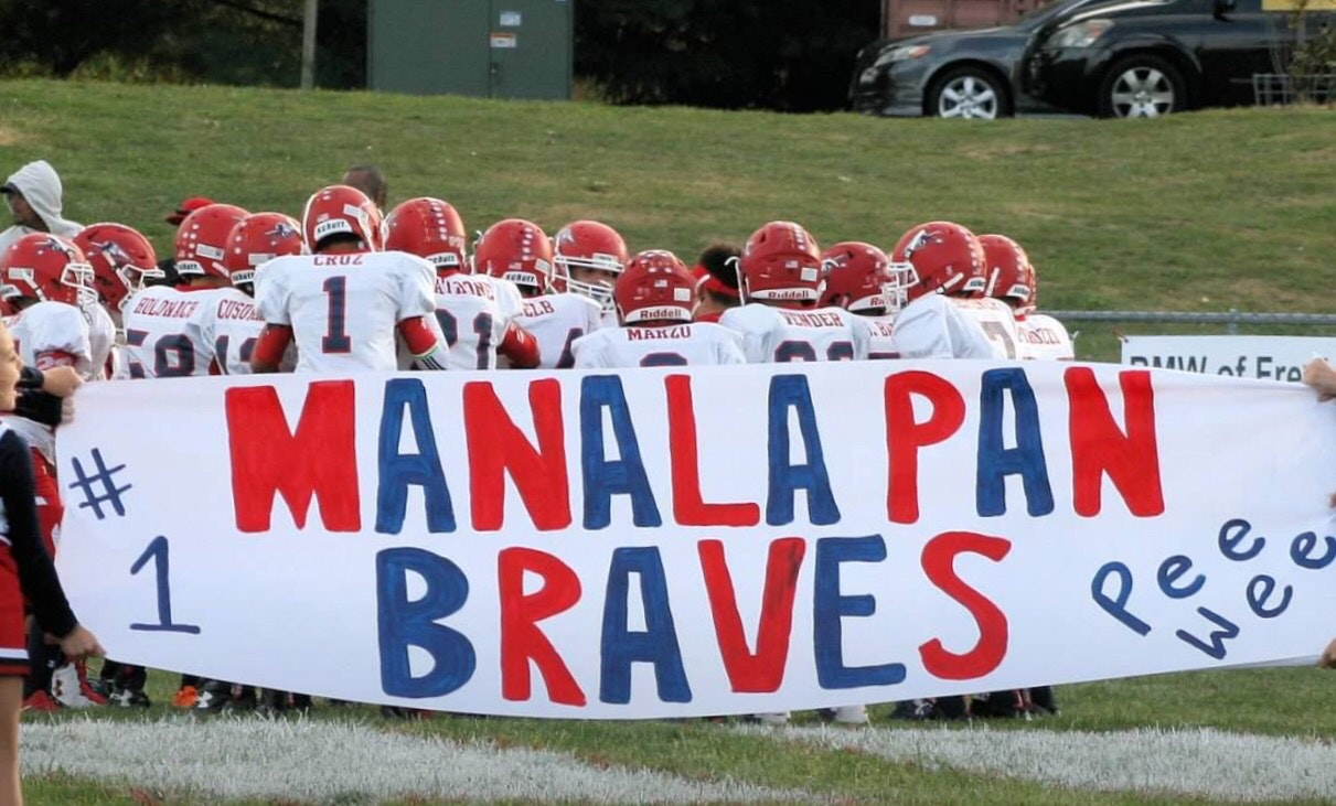 Manalapan Braves PW Football