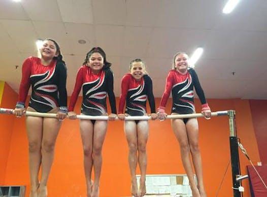 The rock gymnastics training center booster club shop online.