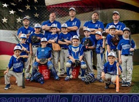 baseball fundraising - Sayreville Riverdogs Blue 10U