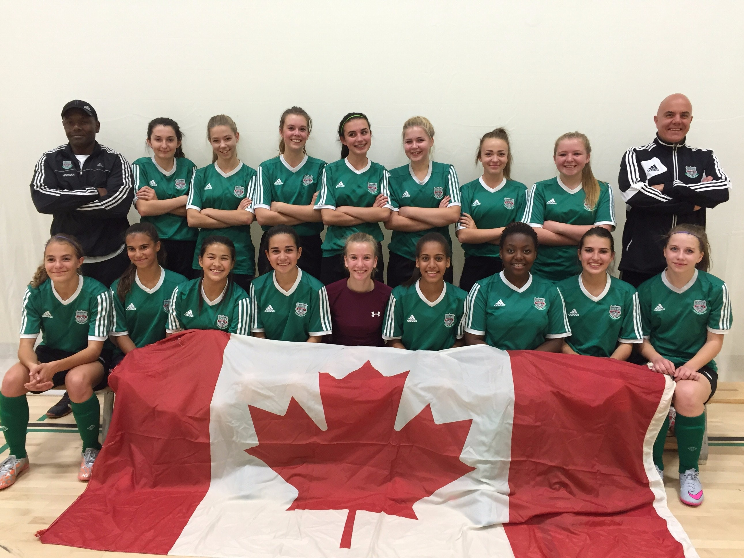 Calgary West SC Team Chelsea - Gothia Cup Tournament in Sweden July 2016