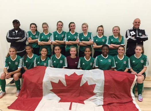 soccer fundraising - Calgary West SC Team Chelsea - Gothia Cup Tournament in Sweden July 2016