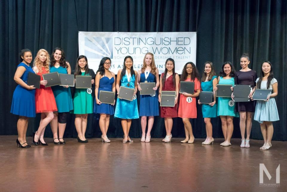 Distinguished Young Women of Los Angeles County