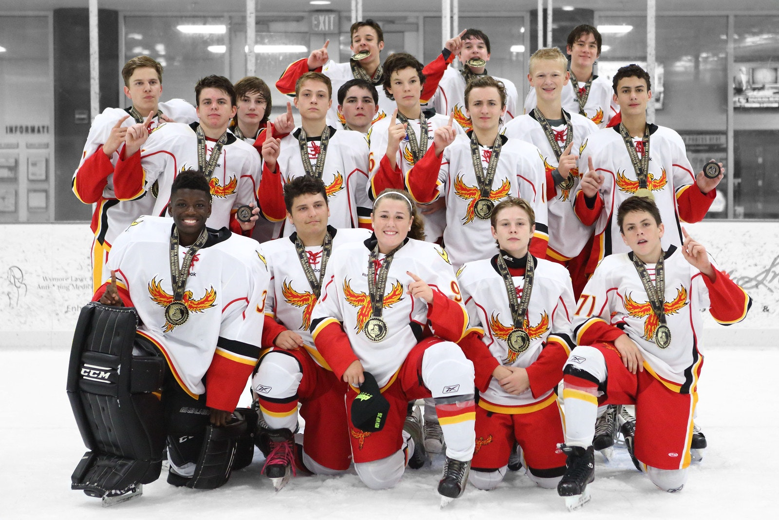 Phoenix Hockey Tournament Bus