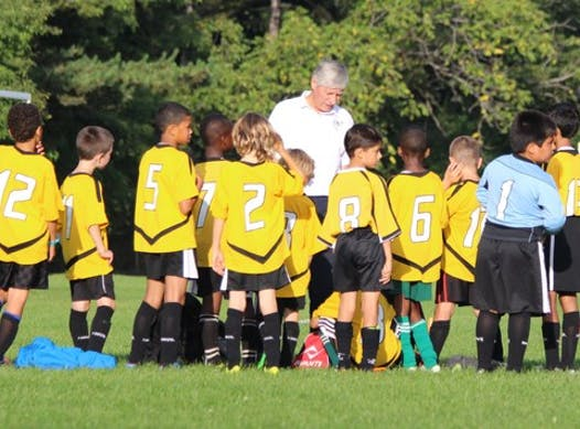 soccer fundraising - league and coaching fees