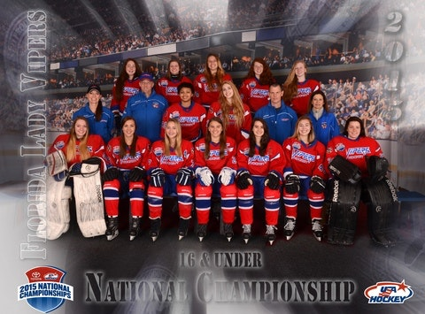 ice hockey fundraising - FLORIDA LADY VIPERS TRAVEL EXPENSES HELP FUND