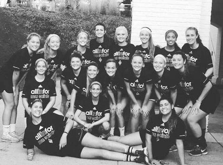 Marymount Women's Lacrosse Team