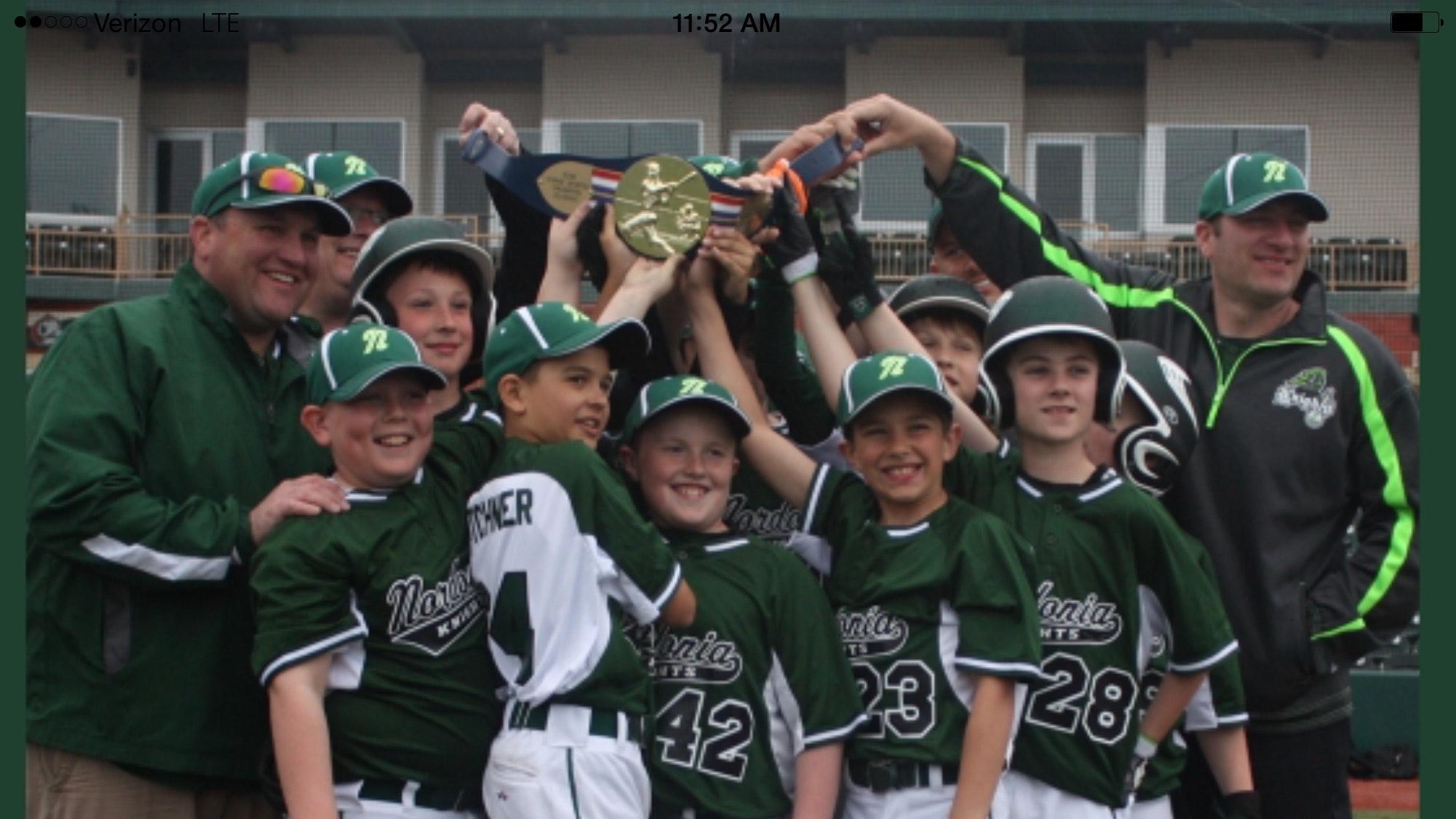 Nordonia Knights Travel Baseball Cal Ripken Experience
