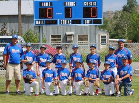 Bitterroot Valley 12U All Stars 2016
