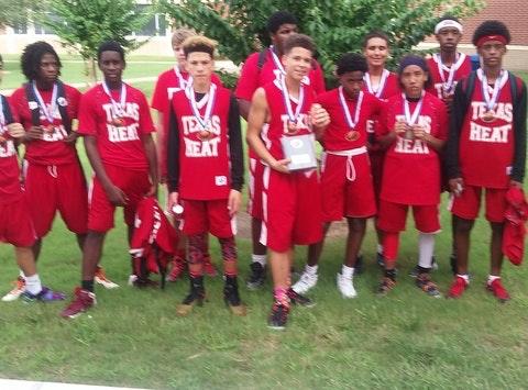 basketball fundraising - Texas Heat uniform fund