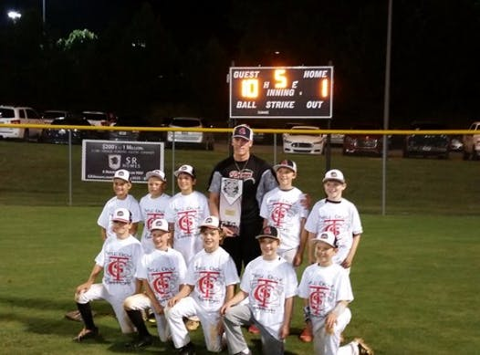 baseball fundraising - Dunn Right Dawgs 10U Red