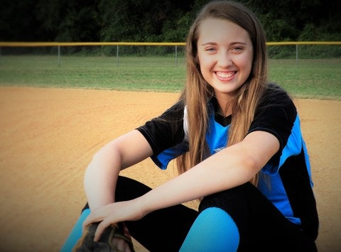 softball fundraising - Hannah's Germany trip