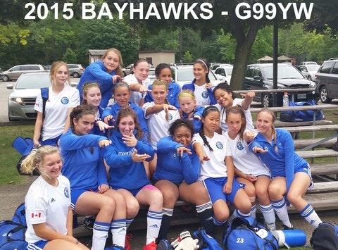 Burlington Girls99YW Soccer