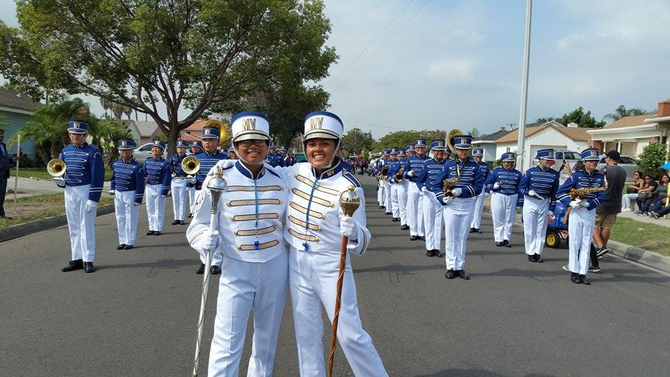 Moreno Valley High School Viking Regiment & Colorguard