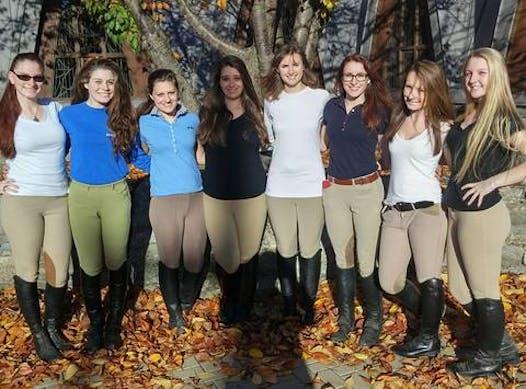 other sport fundraising - Assumption College Equestrian Team