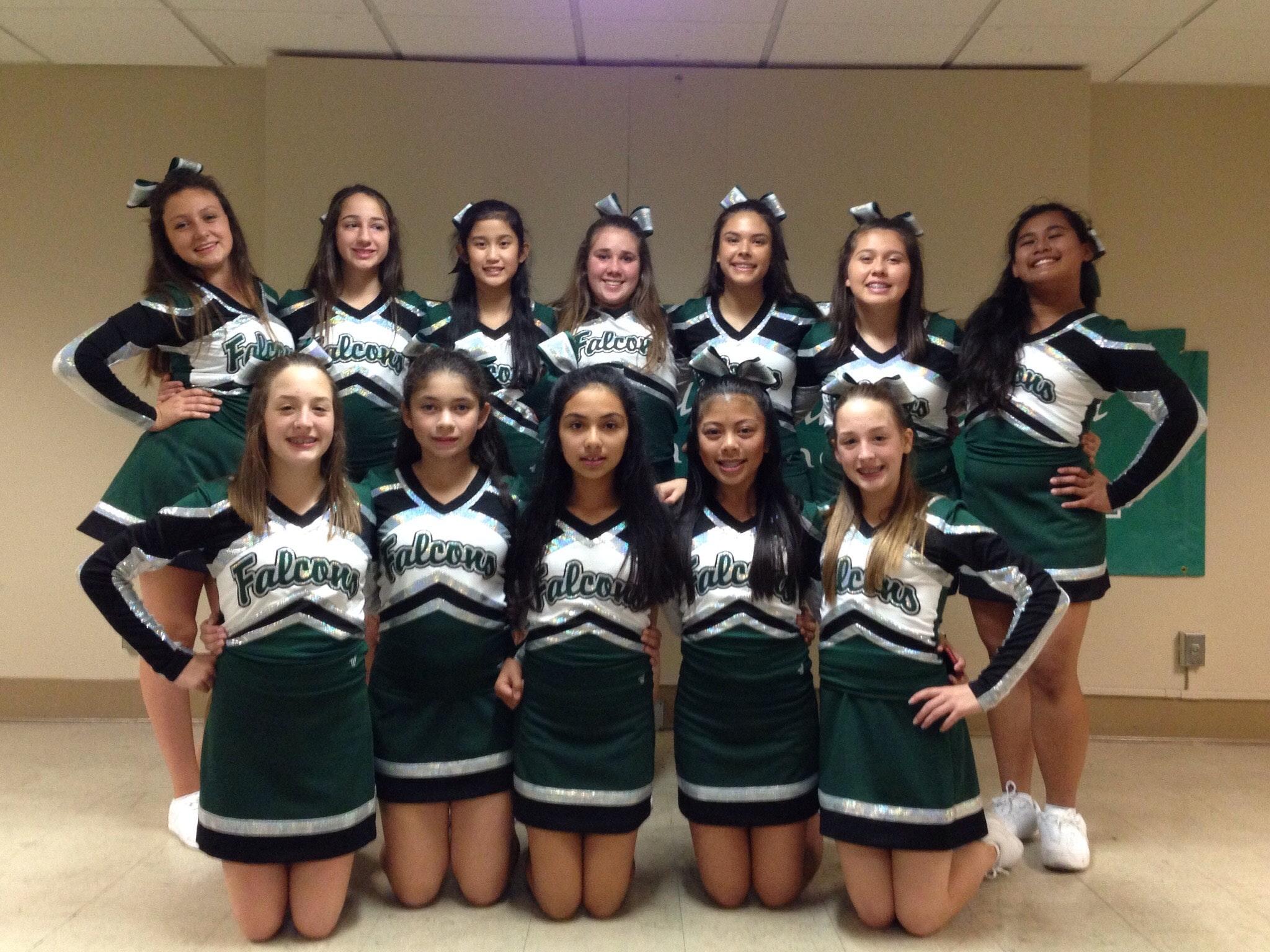 Saint Veronica Cheerleaders