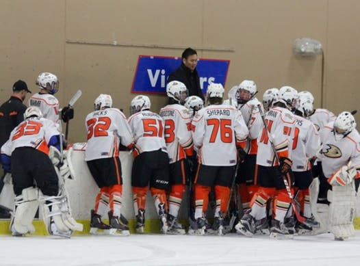 ice hockey fundraising - Anaheim Ducks travel and ice and tournament fees