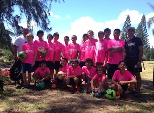 soccer fundraising - Laulima 03B Pulse Fundraiser