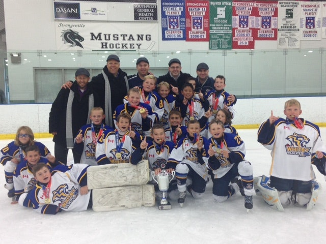 Whitby Wildcats - Atom A White