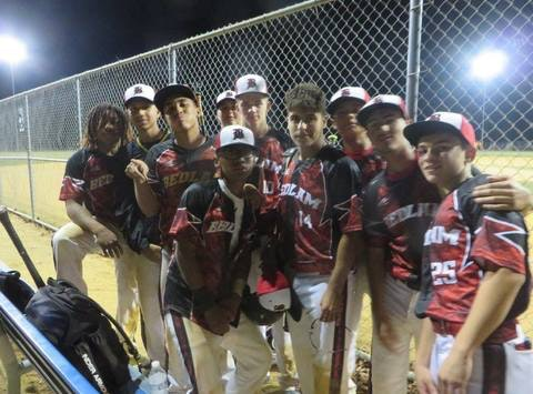 Bedlam Baseball 2017 Travel Team