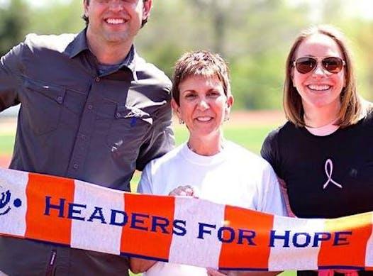soccer fundraising - Headers for Hope