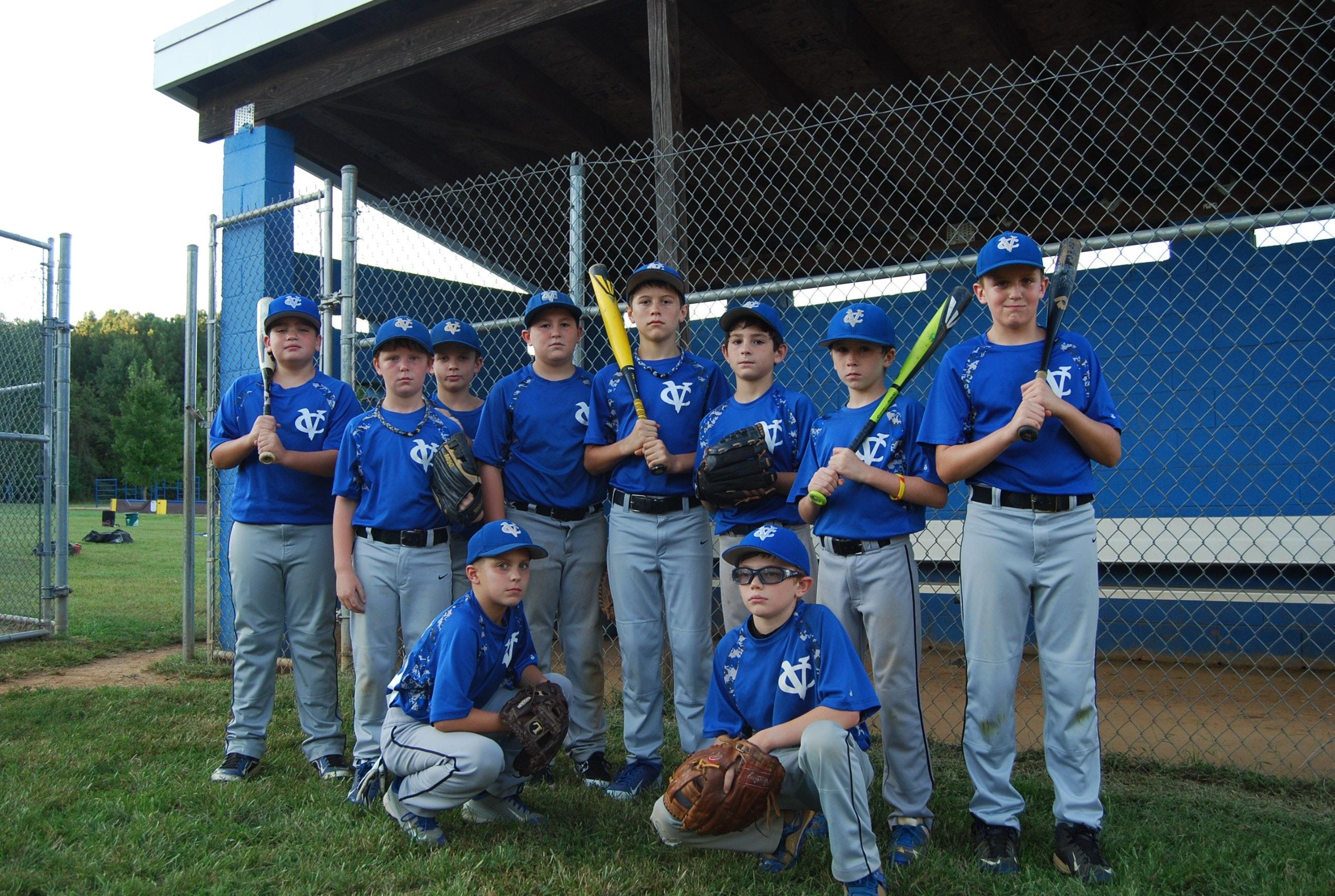 Virginia Cannons 11U Blue Travel Baseball