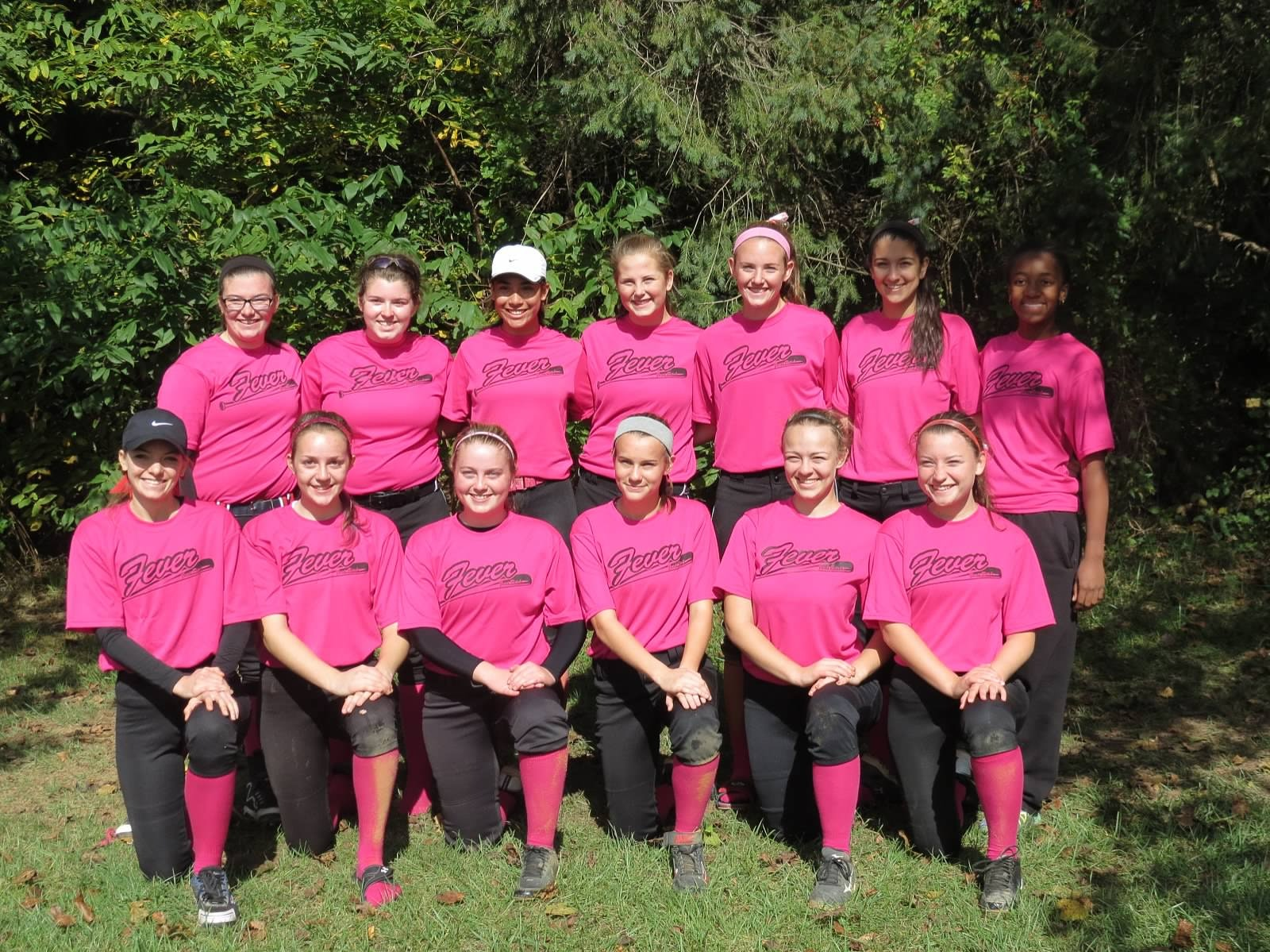 Western Howard County 16U  Fever Travel Softball Team